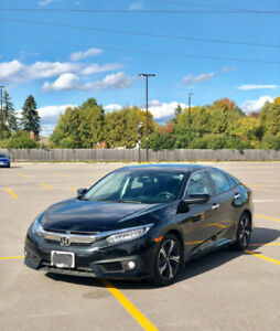 2018 Honda Civic Sedan Touring Turbo (Black) Lease Take Over