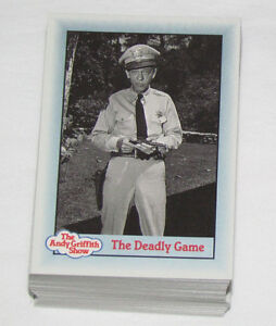 1990 COMPLETE CARD SET THE ANDY GRIFFIN SHOW