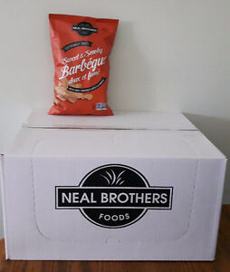 Neal Brothers Sweet and Smokey BBQ kettle chips