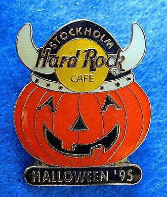 Halloween Viking Ship (STOCKHOLM VIKING HALLOWEEN PUMPKIN JACK-O-LANTERN Hard Rock Cafe PIN FREE)
