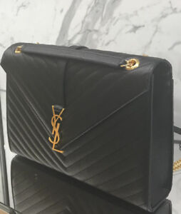Brand New Yves Saint Laurent shoulder bag with tags and receipt