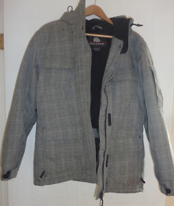 Great Misty Mountain winter snowboard coat, women's L, excell.