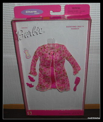 Nrfb 1999 Mattel Barbie Doll Bathtime Chat Fashion Avenue Fashions Clothing