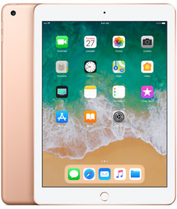 new ipad 6th generation rose gold open box  355 or best offer