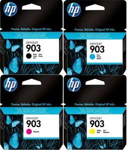 4-HP-903-Genuino-Officejet-Pro-6960-6970-Cartuchos-de-tinta