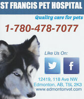 Veterinary Assistant/Receptionist