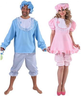 Baby Boy Girl Junge Mädchen Damen Babydoll Riesenbaby Big Kostüm Anzug (Big Baby Mädchen Kostüm)