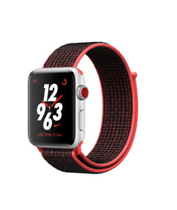 new Apple Watch Series 3 Nike+, 42mm, GPS + Cellular, Space..