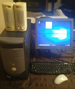 3 complete computers for sale