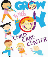 GROW WITH JOY CHILD CARE