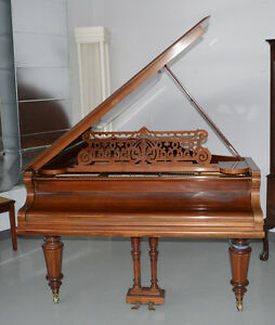 C. Bechstein Antique Concert Grand Piano @ Auction May 30th