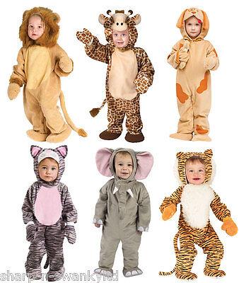 Kleinkind Giraffe Kostüme (Kleinkinder Mädchen Jungen Giraffe Lion Animal Weihnachten Kostüm Outfit)