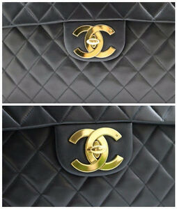 CHANEL XL JUMBO FLAP LAMBSKIN PURSE - AUTHENTIC Sarnia Sarnia Area image 6