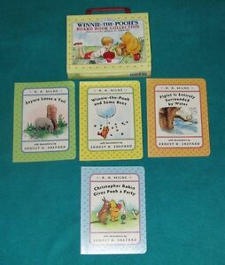 Winnie the Pooh Board Book Collection Box Set