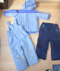 TCP fleece lined snow suit with extra snowpants, size 3T