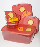 Vent n Serve - Microwave 5 pce set or separates - Tupperware New