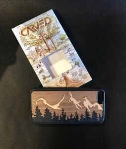 Hand Carved Wood iPhone 5 Case