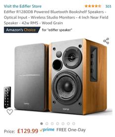 Edifier bookshelf speakers 2.1