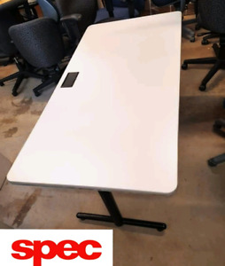 Made in Canada  Very High Quality Work Table Desk with electric
