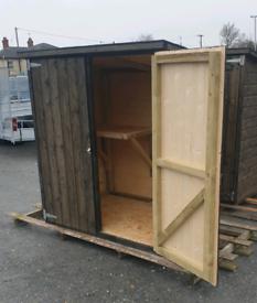 Wooden storage box mini garden sheds bbq bikes tools furniture