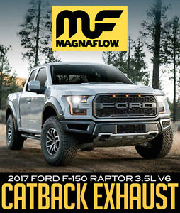 Magnaflow Catback Exhaust for 2017 Ford F-150 RAPTOR 3.5L