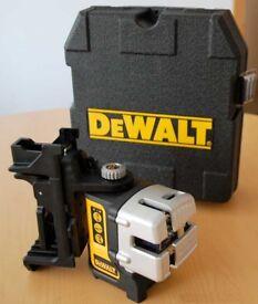 New dewalt dw089k laser