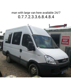 Man with van to help you for moving house or to collect large items