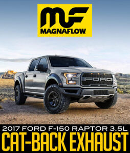 Magnaflow Cat-back Exhaust - 2017 Ford F-150 Raptor 3.5L
