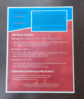 GET YOUR FLYERS PRINTED THE NEXT DAY