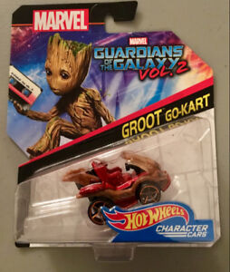 Hot Wheels Marvel Guardians of the Galaxy Vol. 2 - Groot Go-Kart