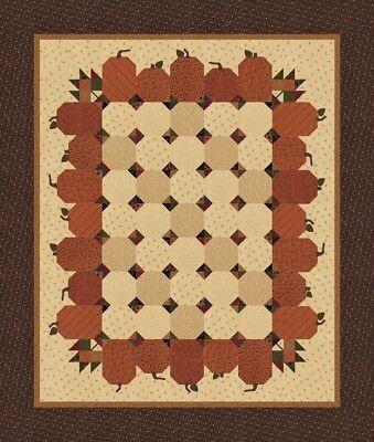 Nature's Glory QUILT KIT - Moda Fabric Kansas Troubles  PRECUT Fusible Appliques Appliques Quilt Kit Fabric