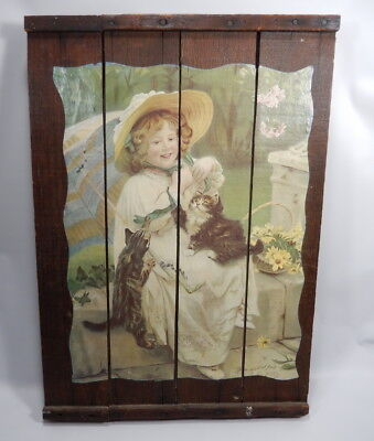 Wood San Joaquin Valley Grape Drying Raisin Tray Home Decor Arthur Elsley