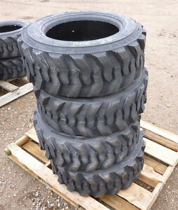 NEW 10X16.5 10 X 16.5 SKID STEER LOADER BOBCAT CAT TIRES