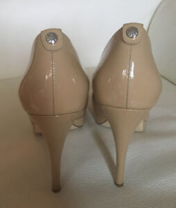 CHAUSSURES CUIR VERNIS NUDE MICHAEL KORS NUDE PATENT LEATHER