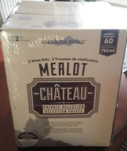 Costco Merlot Double Kit Makes 60 Bottles