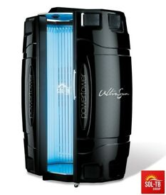 STAND UP SUNBEDS ULTRASUN 200W MP-3 LED BREEZE - MIST AUDIO
