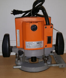 Chicago Electric Power Tools 1-3/4 HP Plunge Router