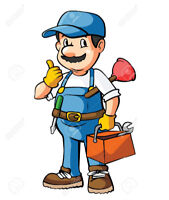 Plumber for hire !