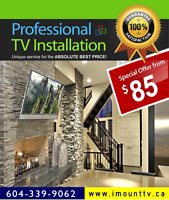 TV installations & TV Wall Mounting by iMountTV