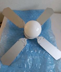 2 ceiling fans