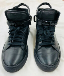 BUSCEMI Black 100mm US SIZE 10