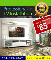 Best TV Wall Mounting & TV Installations by i-Mount-TV