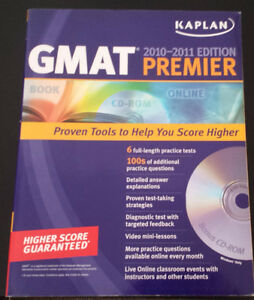 2 GMAT study books - $90+tax value Kitchener / Waterloo Kitchener Area image 2