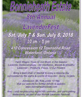 Bonnieheath Estate 8th Annual LavenderFest