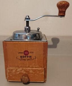 Vintage Douwe Egberts Manual Koffie Grinder