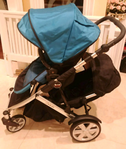 Britax B-Ready Double Stroller with 2nd Seat