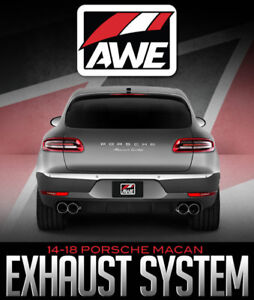 AWE Tuning Touring Exhaust System For 2014+ Porsche Macan