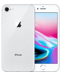 BRAND NEW IPHONE 8 256GB SILVER FULL WARRANTY $899