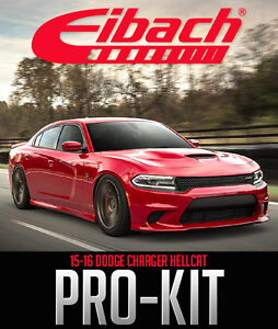 Eibach Pro-Kit for 2015-16 Dodge Charger Hellcat