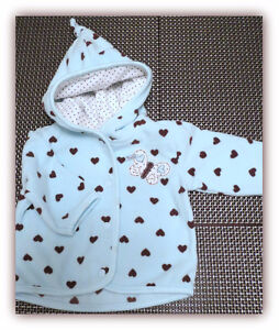 Carter's Snap Front Hoody